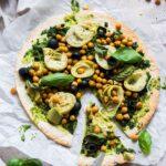 Green Tortilla Pizza